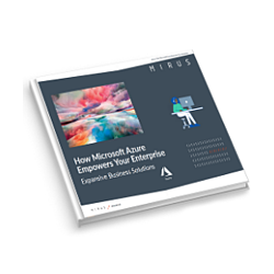 How Microsoft Azure Empowers Your Enterprise eBook icon for web - Mirus IT